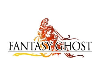Fantasy Ghost logo design