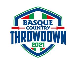 Basque Country Throwdown logo design
