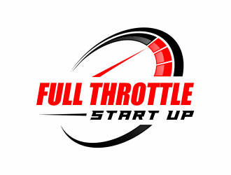 Full Throttle Start Up logo design
