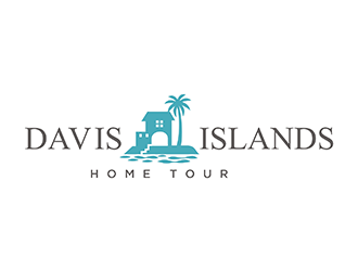 Davis Islands Home Tour logo design