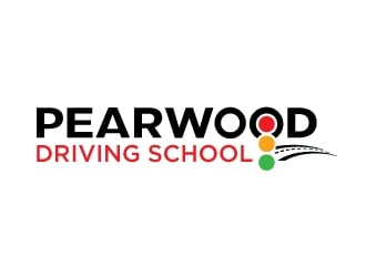 Pearwood Driving School logo design