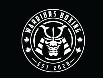 Warriors Boxing logo design by sanworks