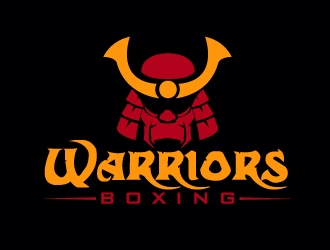 Warriors Boxing logo design by AamirKhan
