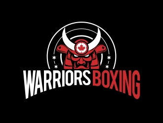 Warriors Boxing logo design by naldart