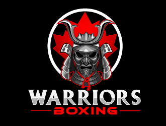 Warriors Boxing logo design by THOR