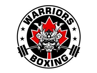 Warriors Boxing logo design by frontrunner