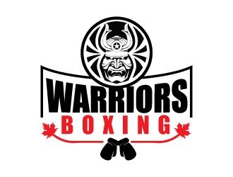 Warriors Boxing logo design by KreativeLogos