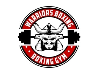 Warriors Boxing logo design by Mardhi