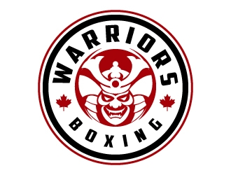 Warriors Boxing logo design by jaize