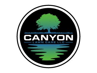 Canyon Lawn Care LLC logo design