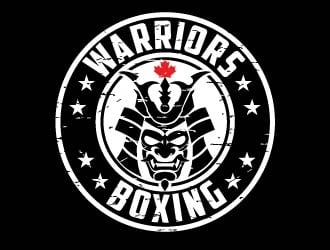 Warriors Boxing logo design by usef44