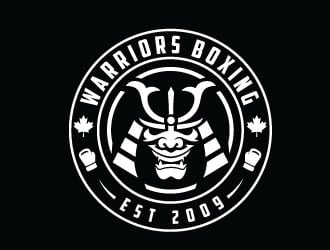 Warriors Boxing Logo Design