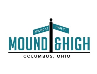 MoundandHigh  or Mound&High logo design