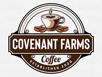 Covenant Farms Coffee logo design