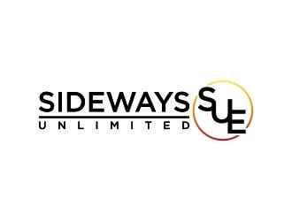 Sideways Sue Unlimited logo design