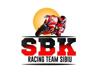 SBK Racing Team Sibiu logo design by Shailesh