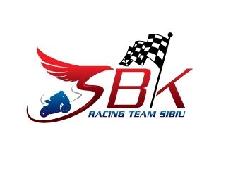 SBK Racing Team Sibiu logo design by sanu