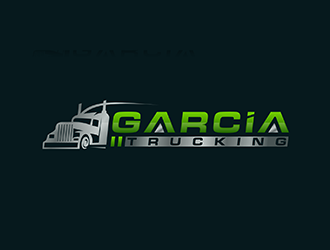 Garcia Trucking  logo design