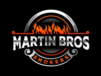 Martin Bros Smokers logo design