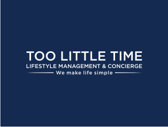 Too Little Time Lifestyle Services logo design