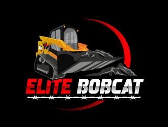 Eite bobcat  logo design