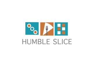 Humble Slice logo design by cookman