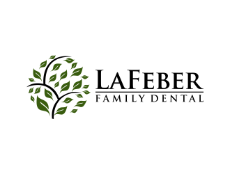 LaFeber Family Dental logo design