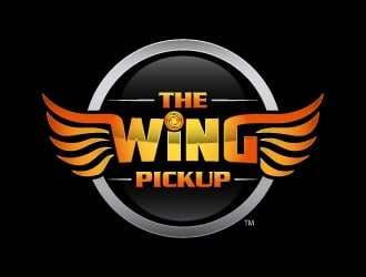 The Wing Pickup logo design