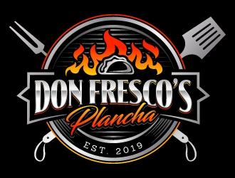 Don Fresco's Plancha  logo design
