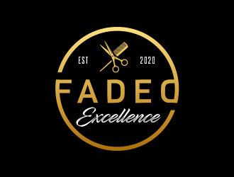 Faded Excellence logo design