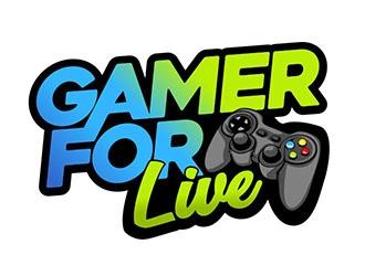 GamerForLive logo design