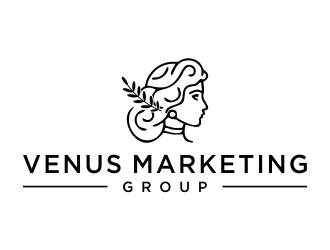 Venus Marketing Group logo design