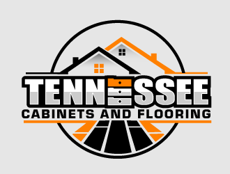 Tennessee Cabinets and Flooring logo design by THOR