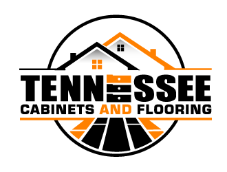 Tennessee Cabinets and Flooring logo design