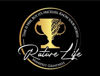 Rature Life  logo design