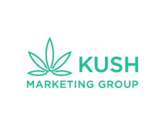 Kush Marketing Group logo design