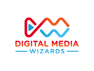 Digital Media Wizards logo design