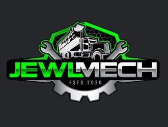 JEWL MECH logo design