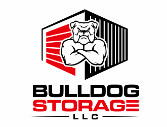 Bulldog Storage, LLC logo design