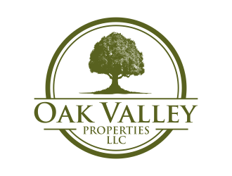 Oak Valley Properties  logo design