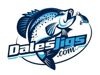 Dales Jigs .com logo design winner