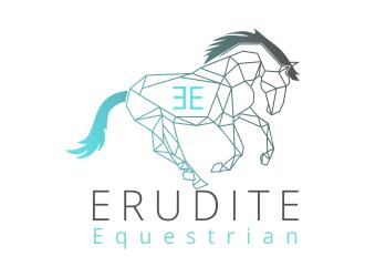 Erudite Equestrian logo design winner