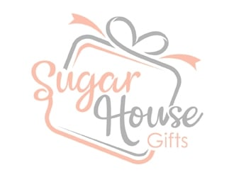 SugarHouse Gifts logo design