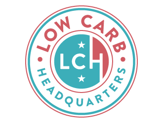 Low Carb Headquarters logo design