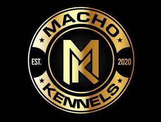 Macho Kennels logo design