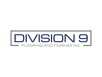 Division 9 Flooring and Finishes Inc logo design by ammad