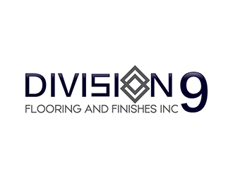 Division 9 Flooring and Finishes Inc logo design by gogo