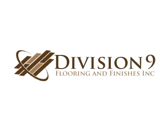 Division 9 Flooring and Finishes Inc logo design by AamirKhan