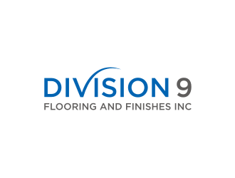 Division 9 Flooring and Finishes Inc logo design by RatuCempaka