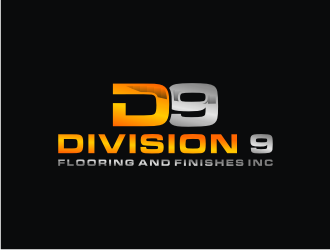 Division 9 Flooring and Finishes Inc logo design by bricton